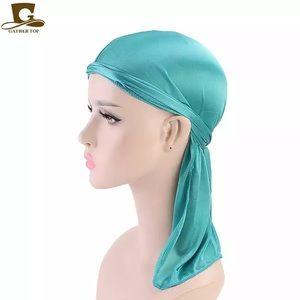 BOGO 📦 SILKY 🔥Du-Rag (Great Turquoise Color)
